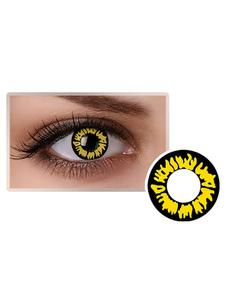 أسود اللون مستحضرات التجميل حزب تأثيري العين العدسات اللاصقة