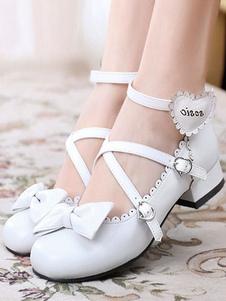 Lolita sapatos Festa de Chá 0.8