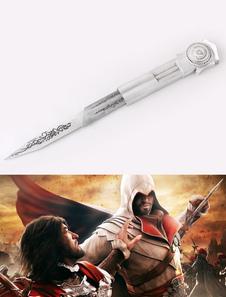 Assassins Creed Скрытый клинок Хэллоуин Cosplay Реквизит оружие