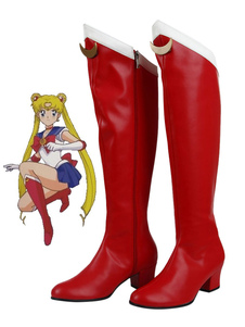 Carnevale Cosplay scarpe Sailor Moon Sailor Moon di PU