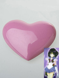 コスプレ道具 コスプレ雑貨 コスプレグッズ 美少女戦士セーラームーン セーラーサターン ブローチ 樹脂