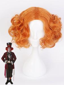Алиса в стране чудес Mad Hatter Cosplay Wig