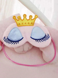 كيغورومي منامة العين قناع الوردي الكرتون للجنسين بس أقنعة النوم