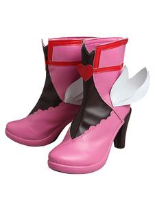 Overwatch Cosplay Sapatos para mulher PU conjunto calçado