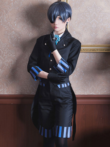 Черный дворецкий Kuroshitsuji Ciel Phantomhive Film Version Cosplay Costume