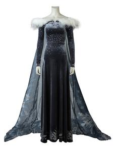 Олаф Замороженное приключение Elsa Halloween Cosplay Costume