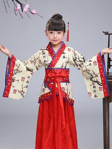 زي الاطفال الصينية عام2020هالوين زي مهرجان الربيع الصيني