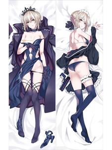 Tipo Moon Fate Saber Anime Game Kawaii SexyMenina Almofada