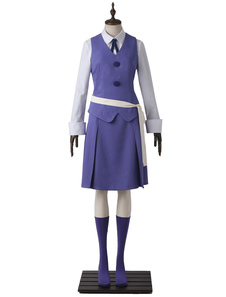 Маленькая ведьма Academia Sucy Manbavaran Daily Teaching Suit Halloween Cosplay Costume