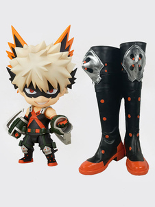 My Hero Academia Bakugou Katsuki Cosplay Shoes
