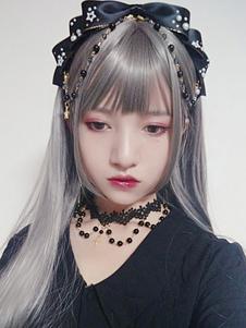 Lolita Red Katyusha KC Pearl Headwear Broche de pelo