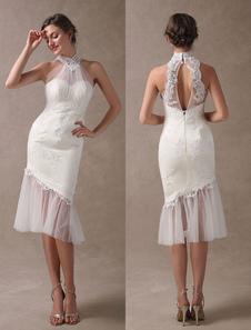 Платья для свадебных платьев с короткими рукавами Свадебные платья с длинным рукавом