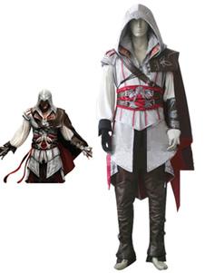 Вдохновленный Assassin's Creed II Ezio Auditore Da Firenze Хэллоуин Косплей Костюм