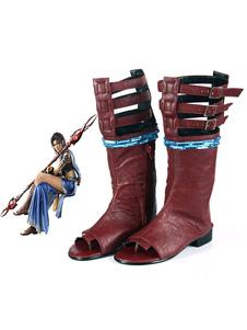 Carnaval Final Fantasy XIII Oerba Yun Fang Halloween Cosplay Zapatos