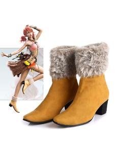 Final Fantasy XIII Oerba Dia Vanille Halloween Cosplay Shoes