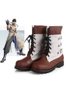 Final Fantasy XIII Snow Halloween Cosplay Sapatos