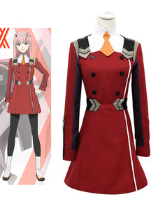 Darling In The FranXX Code 002 Zero Two Halloween Cosplay Costume