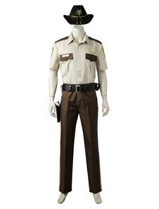 ウォーキング・デッド・シーズン1 Rick Grimesハロウィーンコスプレ衣装