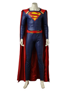 Carnaval Supergirl Season 2 Superman Halloween Cosplay Disfraz