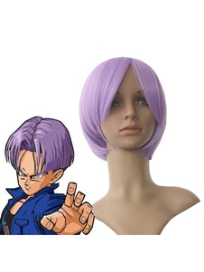 Carnaval Dragon Ball Z Trunks Halloween Cosplay peluca