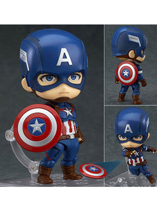 Carnaval Capitán estadounidense Steven Rogers Marvel Comics Cute Garage Kit figura