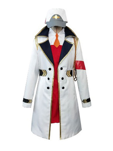 Darling In The FranXX Code 002 Zero Two Пылезащитный костюм Halloween Cosplay Costume