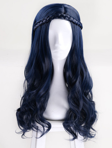 Потомки 2 Disney Evie Halloween Cosplay Wig