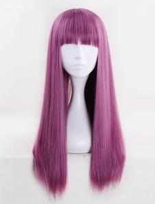 Потомки 2 Mal Halloween Cosplay Wig