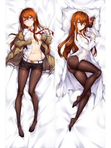 Steins Gate Makise Kurisu Christina Kawaii Сексуальная подушка для аниме