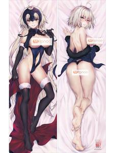 Carnaval Fate Grand Order FGO Ruler Jeanne D'Arc Kawaii Sexy Anime funda de almohada
