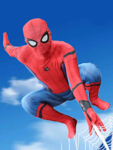 Carnevale Costume cosplay 2020 Spiderman Homecoming Spider Man Peter Parker Halloween Cosplay
