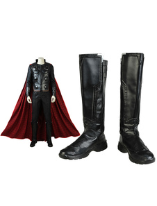 Carnaval Avengers 3 Infinity War Thor Cosplay Zapatos de Halloween