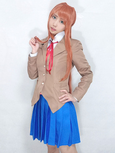DDLC Monika Halloween Cosplay Costume Doki Doki Литературный клуб Cosplay Costume