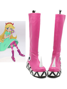 Carnevale Star Vs The Forces Of Evil Star Farfalla Halloween Cosplay Scarpe