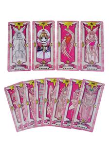 Cardcaptor Sakura Pink Clow Card Acessórios Anime Cosplay
