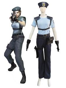 Traje Cosplay de Halloween Resident Evil Jill Valentine
