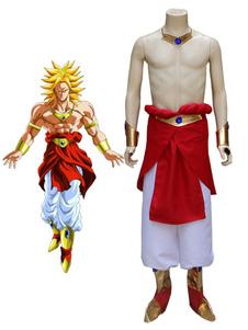 Disfraz Carnaval Disfraz de Dragon Ball Super Broli Halloween Cosplay Carnaval