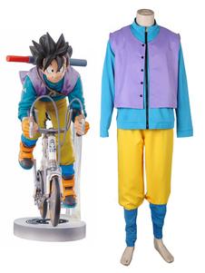 Cosplay Dragon Ball Son Goku de Halloween