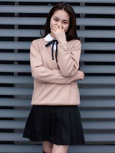 Carnevale Costume cosplay della ragazza di Kawaii giapponese uniforme della ragazza della scuola britannica