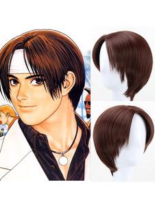 Король бойцов KOFKyo Kusanagi Halloween Cosplay Wig