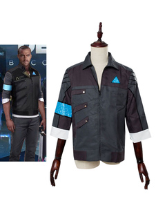 Детройт Become Human Markus Halloween Cosplay Coat