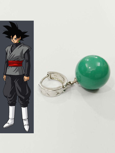 Carnaval Dragon Ball Super Zamasu Goku Black Halloween Cosplay Earings