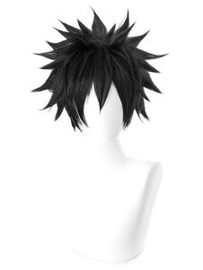 وهناك مؤشر سحري معينة توما Kamijou هالوين تأثيري شعر مستعار