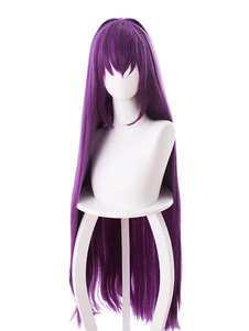 Fate Grand Order Fgo Scathach Halloween Cosplay Wig