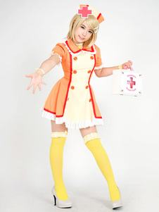 Disfraz Carnaval Vocaloid Kagamine Rin Halloween Enfermera Cosplay Carnaval