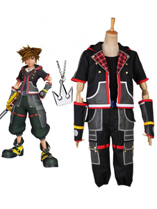 Cosplay traje de Halloween Sora de Kingdom Hearts III
