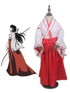 Disfraz Carnaval Inuyasha Kikyo Disfraz de Halloween Cosplay para niños Carnaval