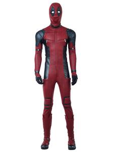 Deadpool 2 2020 Wade Wilson Dia Das Bruxas Cosplay Terno Zentai