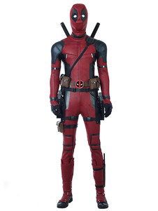 Deadpool 2 2020 Wade Wilson Traje Cosplay Do Dia Das Bruxas Sem Arma E Sapatos