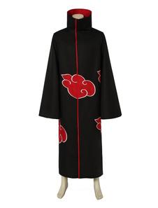 Costume Carnevale Naruto Akatsuki Cloak Uchiha Itachi Costume Cosplay